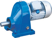 C series 1-stage helical gear units
