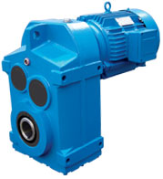F series Parallel shaft Helical gear units