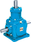 T series spiral bevel gearbox units